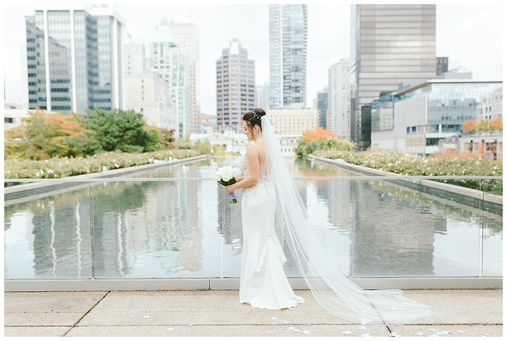 Wedding prewedding photos downtown Vancouver BC (Law Courts Inn)