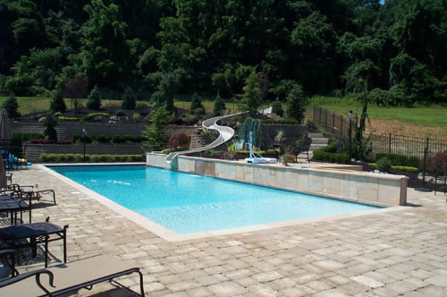 Custom Swimming Pool & Spa Design Nj — K & C Land Design