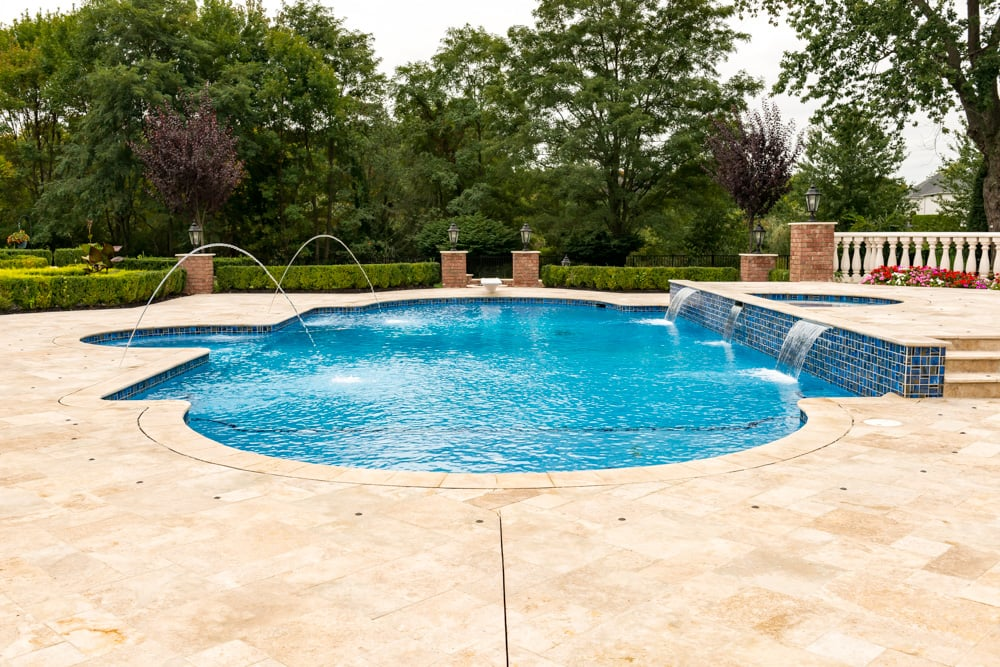 Colts Neck Nj Landscape And Pool Design K Amp C Land