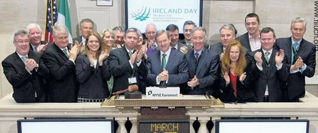 Enda Kenny New York Stock Exchange