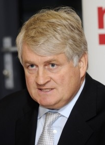 Denis O'Brien Irish billionaire, net worth £3.854 billion (2014)