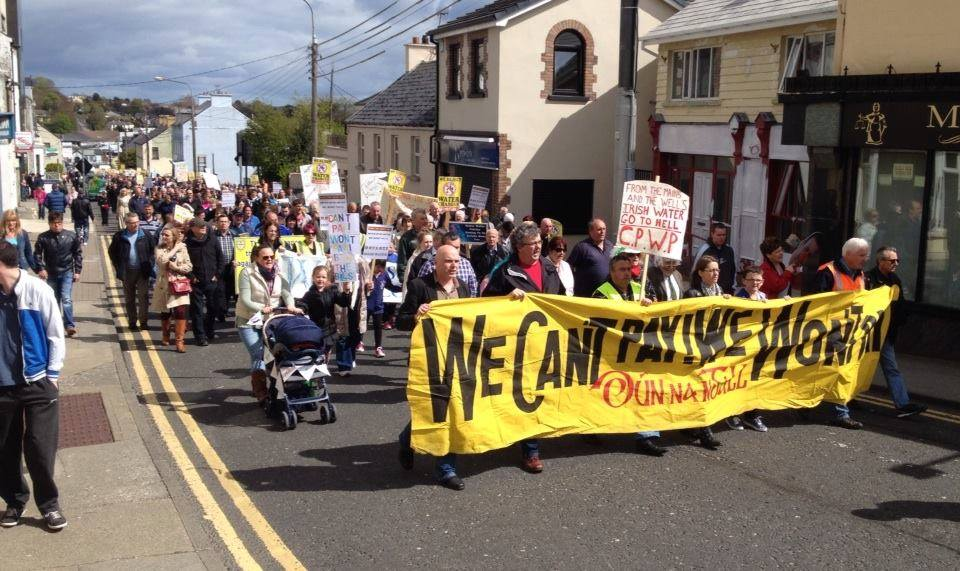 Letterkenny Bin Your Bills Demonstration April 25