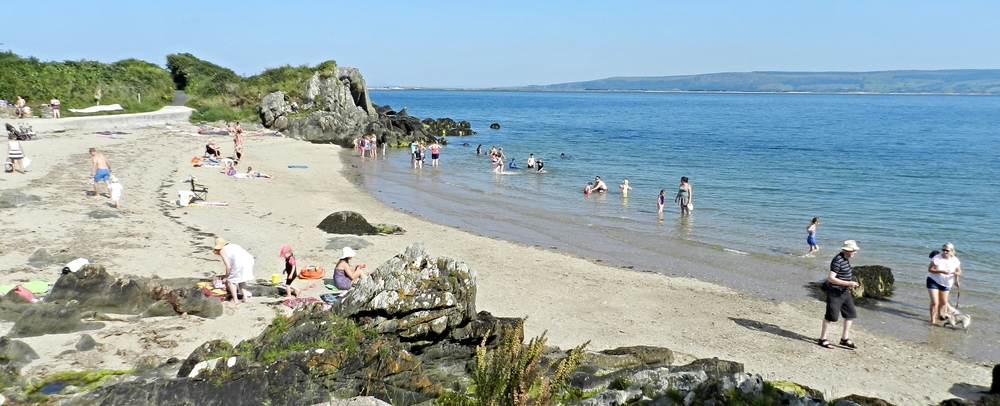 Glenburnie Beach, Moville, Inishowen, Co Donegal