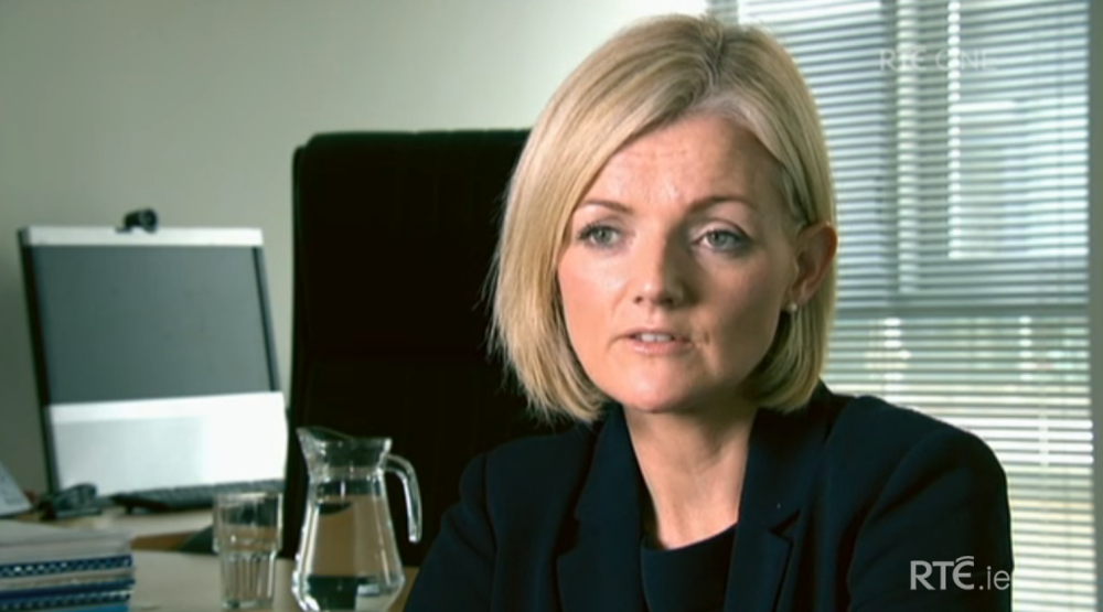 Elizabeth Arnett, the current spokesperson for Irish Water and former spokesperson for RPS Consulting Engineering