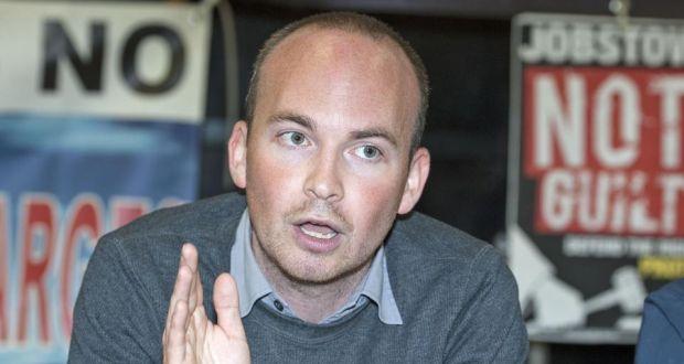 Anti-Austerity Alliance TD Paul Murphy. Photograph: Dave Meehan