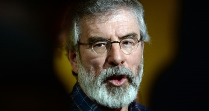 Sinn Féin will announce this week that it has signed up to a number of broad policy principles drafted by those behind the anti-water charges movement and ask its supporters to transfer to others who support the initiative. Photograph: Cyril Byrne/The Irish Times
