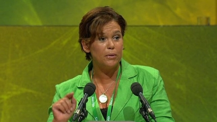 Mary Lou McDonald confirmed Sinn Féin has signed up to the Right2Change initiative