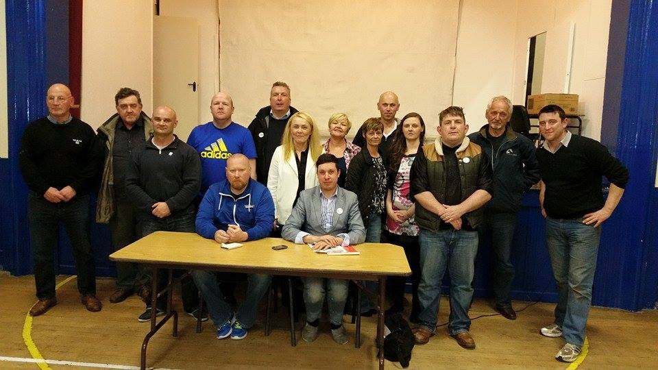 May12th the Donegal Water Warriors and Donegal IRSP held meeting of all Donegal Groups in St Mary's Hall, Muff, Inishowen