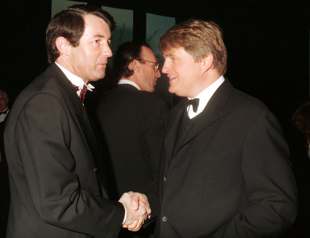 Michael Lowry and Denis O'Brien in 1997