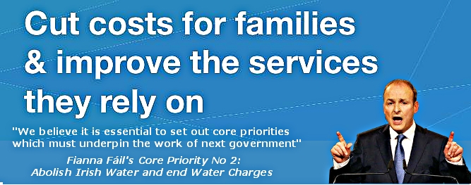 Core Priority No 2 Fianna Fáil manifesto 2016, An Ireland For All, page 38
