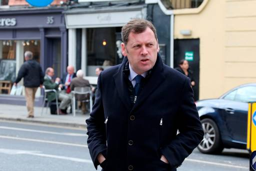 Barry Cowen TD Fianna Fail.  Photo Tom Burke