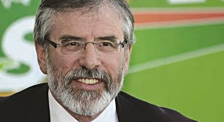 Gerry Adams: preparing for power