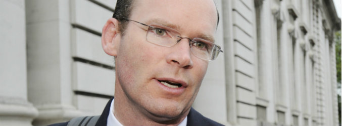 Simon Coveney, Minister responsible for Irish Water