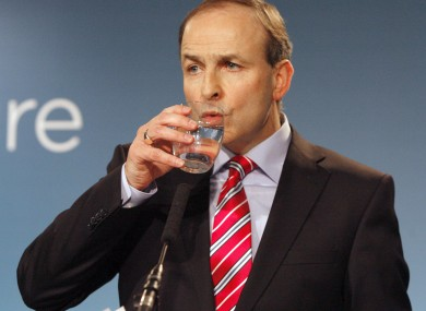 Fianna Fail leader Micheál Martin pictured in 2011.    i  mage: Mark Stedman/RollingNews.ie