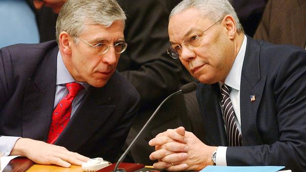 Jack Straw admitted his concerns about the Iraq inquiry to Colin Powell, the former US Secretary of State - Getty image