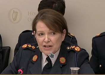Garda Commissioner Nóirín O'Sullivan, Joint Committee on Justice and Equality, Oct 12, 2016
