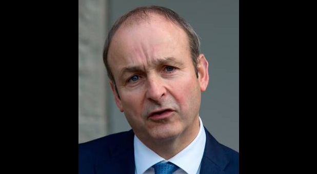Micheál Martin Photo: Colin O'Riordan