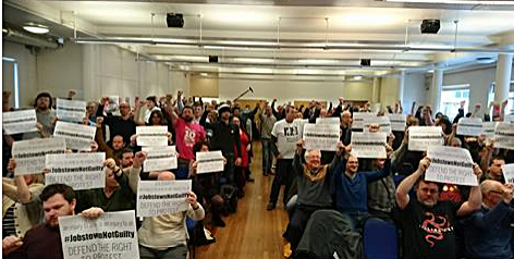 Trade Union & Socialist Coalition, TUSC, conference, England supporting JobstownNotGuilty