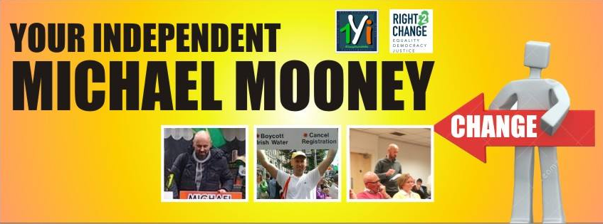Michael Mooney's facebook page where he is trying valiantly trying to highlight water charges issues