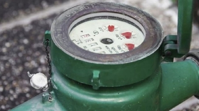 Water meters were installed at all new properties connected to the public water supply