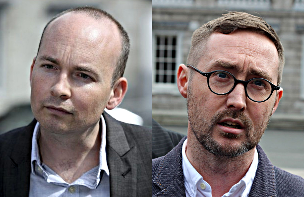 Paul Murphy, Solidarity TD and Eoin Ó Broin , Sinn Féin TD are both former members of the Oireachtas Committee on Funding Domestic Water.  Being from legal backgrounds they will understand the significance of the omission of any mention of the 'Established Practice' clause in the committee's report and indeed the ramifications of a possible Judicial Review.