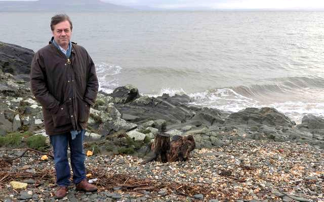 Top Broadway producer John Gore seeks to stop sewage dumped into Lough Foyle. Image: Paddy Clancy.