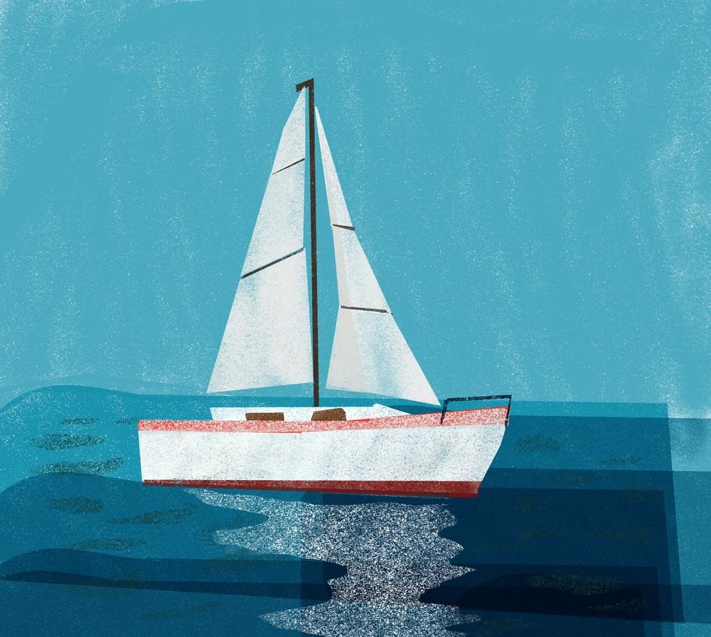 Sailboat,  2016