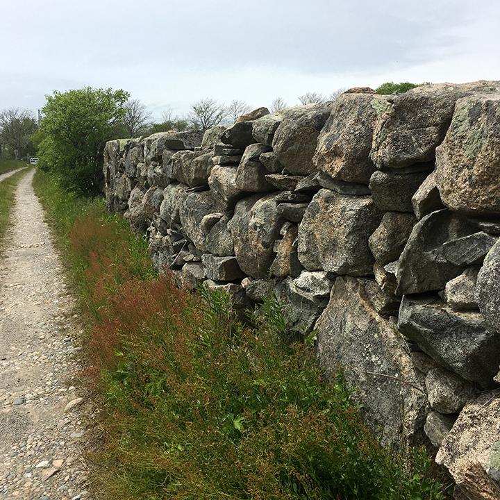 Glacial Stone Wall