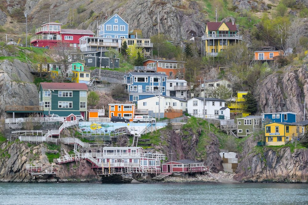 The Battery in St John's, Newfoundland, Canada