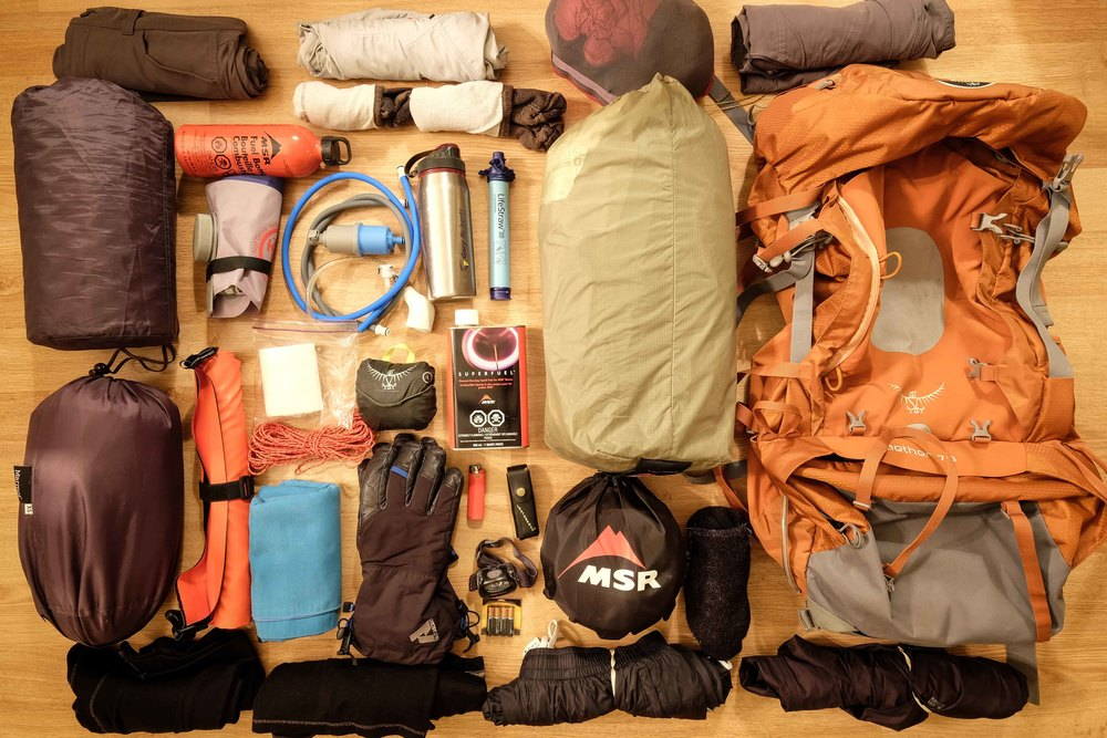 Camping Gear & Clothing