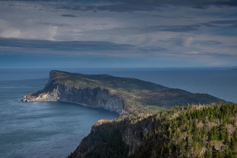 "Cape Gaspe is also known as ""Le Bout Du Monde"" or ""edge/end of the world"""