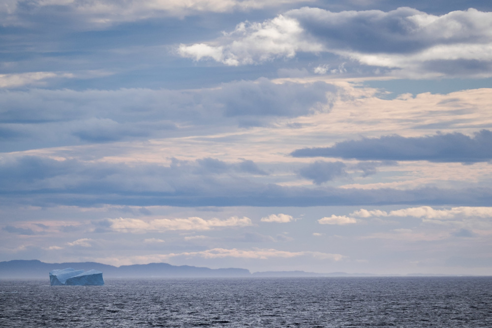 Iceberg off the coast of Twillingate, Newfoundland.