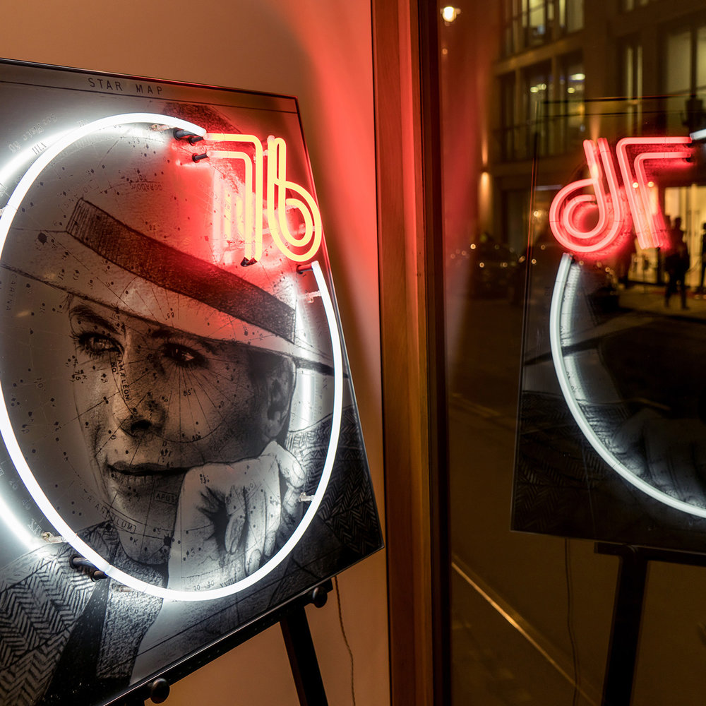 Louis Sidoli Neon Art: Terry O Neill Collaboration