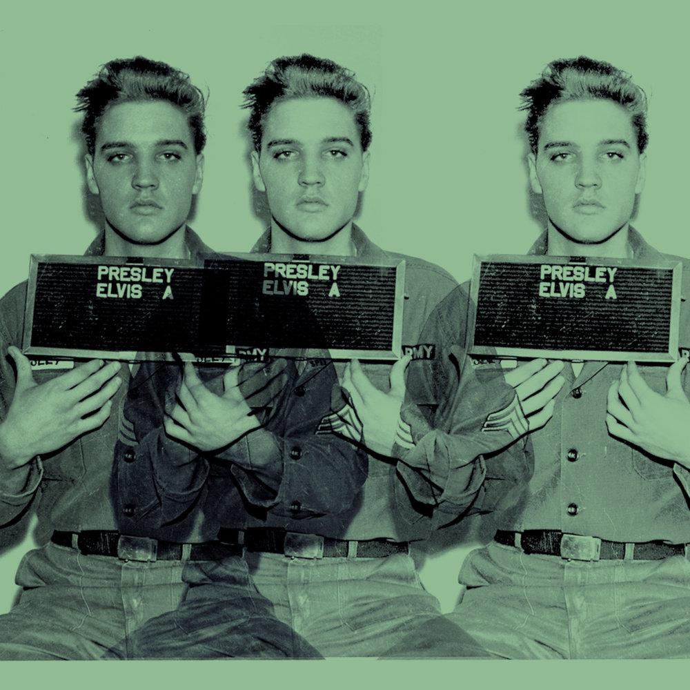 "Elvis GI ""Most Wanted"" (Triple Exposure Green)"