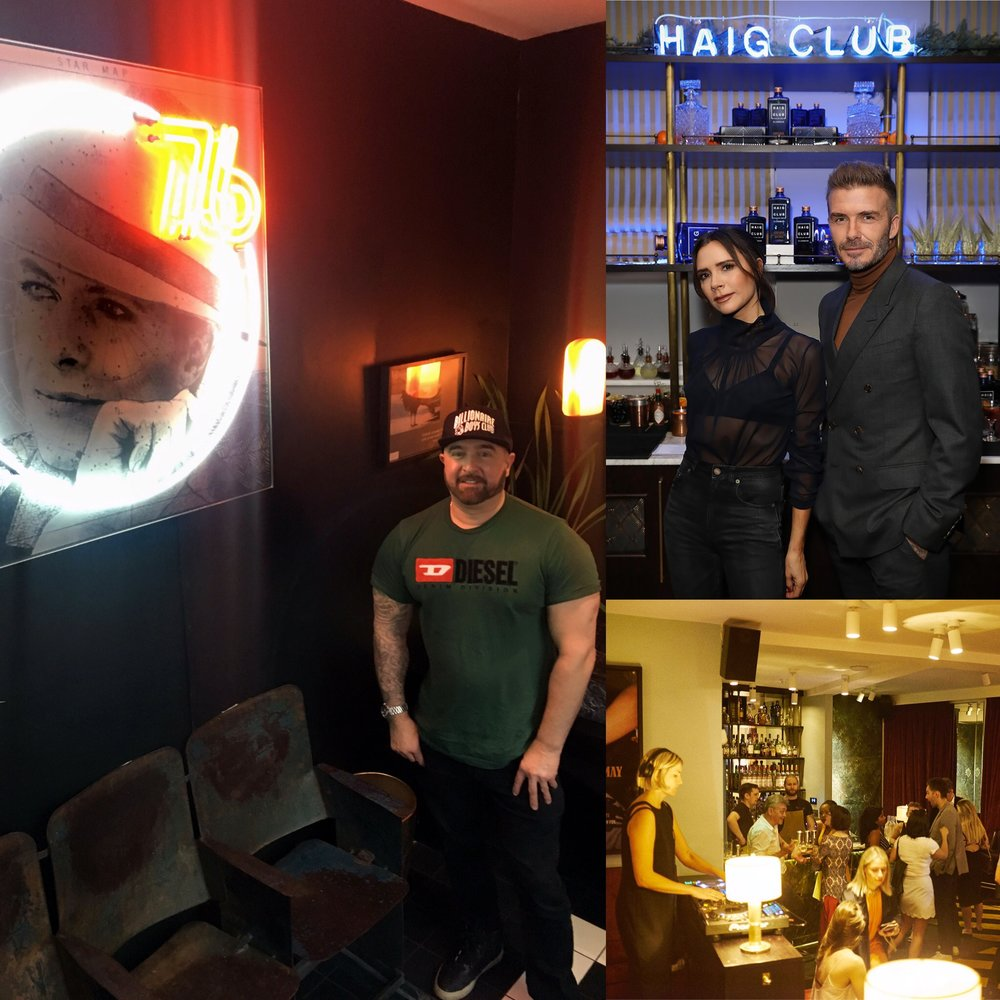 Neon installation - Laylow members club, Notting Hill, London. -