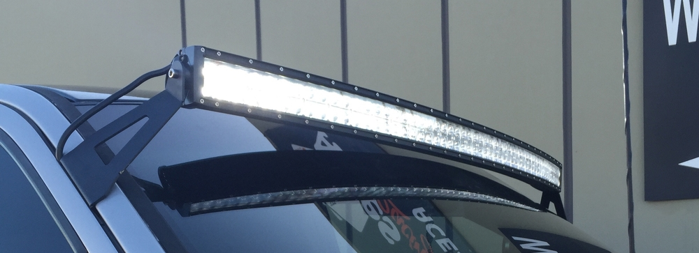 Curved LED Light Bars