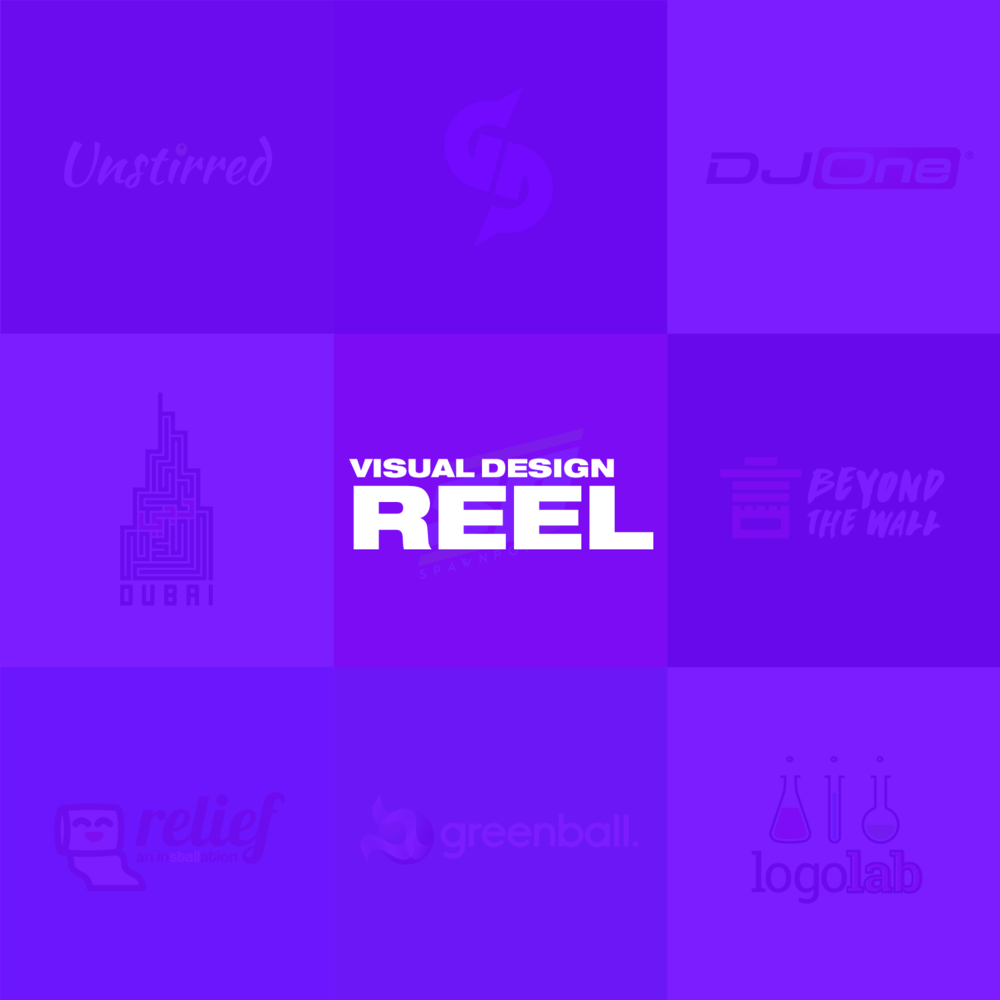 Visual Design Reel  Branding • Print Media • Digital Assets • Misc