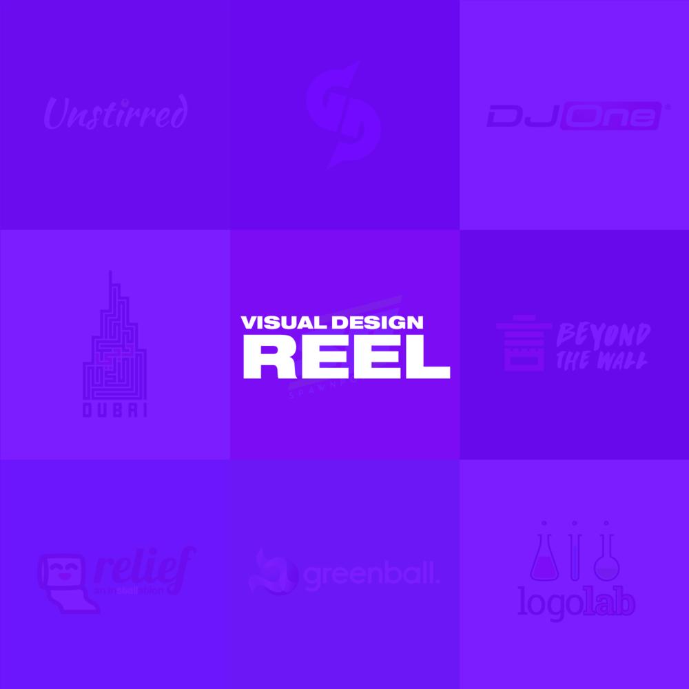 Visual Design Reel  Branding • Print Media • Digital Assets • Misc