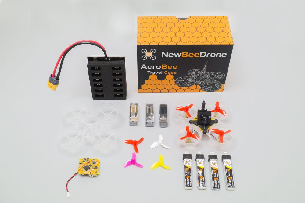 AcroBee Kit with BeeBrain V2 BNF (Bind And Fly)