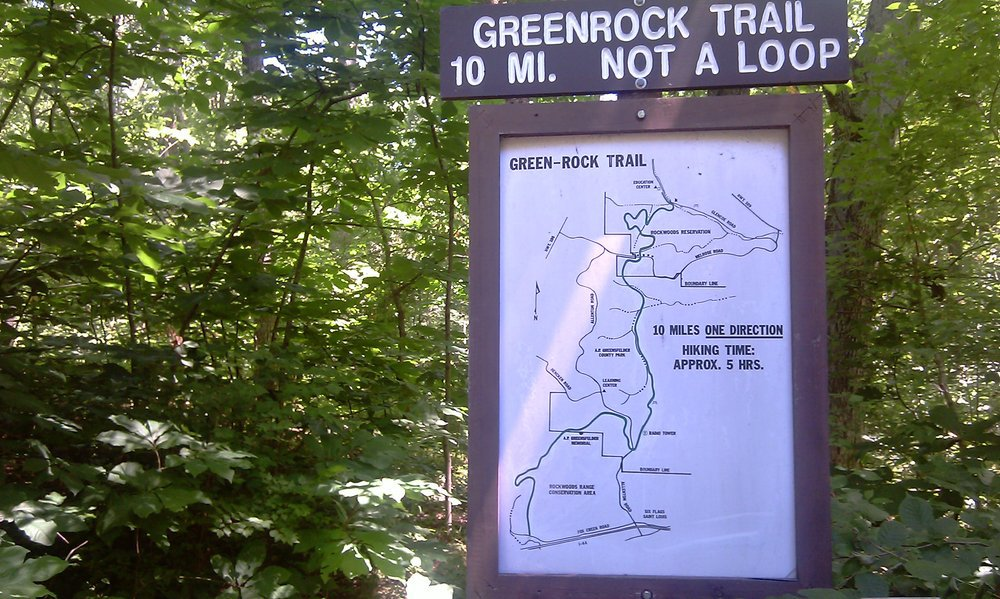 Green Rock Trail