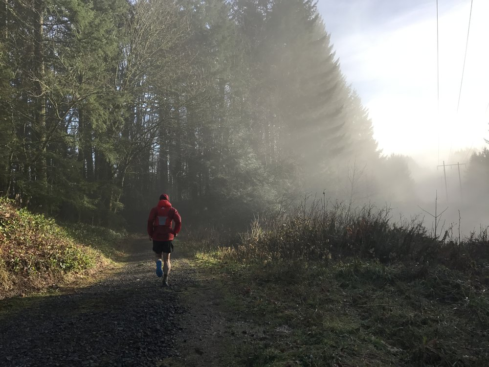 Jordan Chasing the Sun Beams - BPA Road, Portland, OR