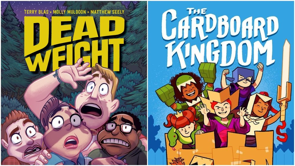 Dead Weight: Murder at Camp Bloom (Oni) and The Cardboard Kingdom (Knopf)