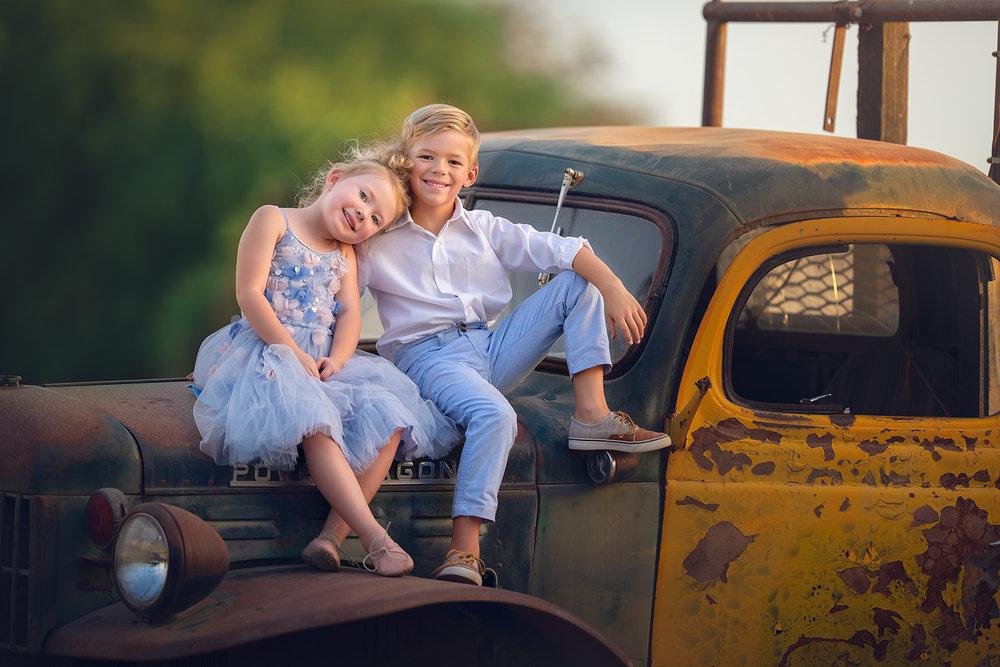 Oakdale Photographer   Children's Portraits