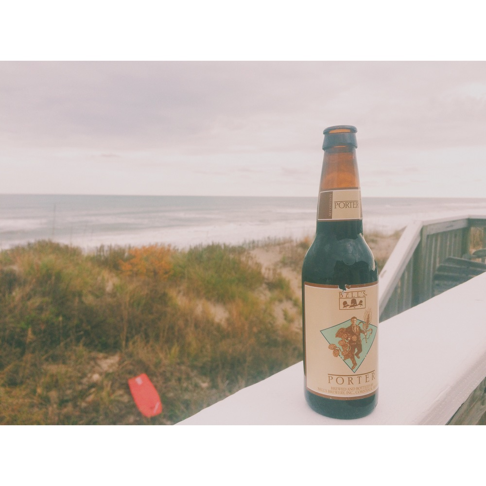 Corolla, N.C. I took this on Thanksgiving morning, 2014. I drank one of those in a hot tub with a cup of coffee and enjoyed the view. There was nothing on my mind but beer, coffee and ocean.