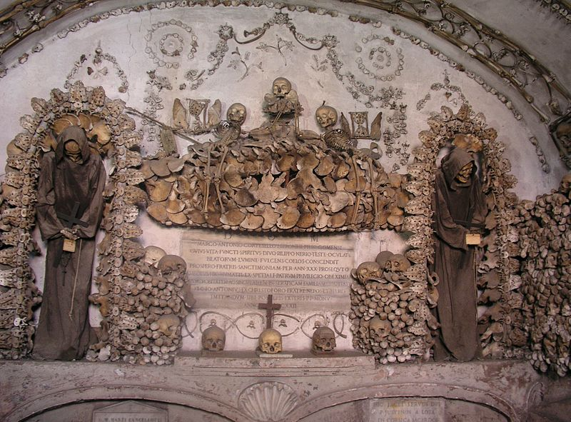 The Capuchin Crypt in Rome. Image Author: Dnalor_01. Image Source: Wikimedia Commons. License: CC-BY-SA 3.0