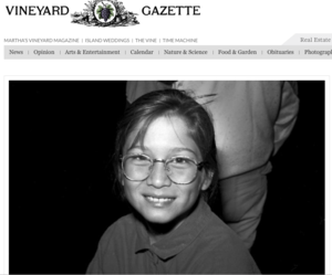 THE VINEYARD GAZETTE