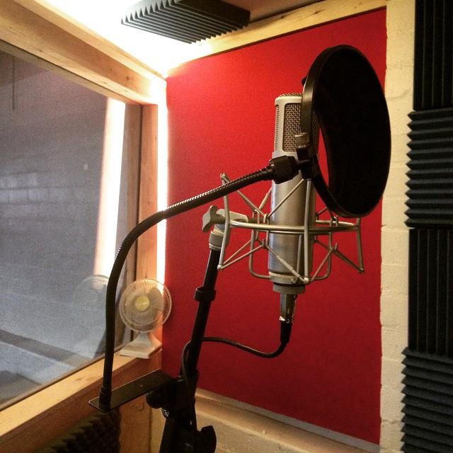 Recording booth no. 1 #LivingMusic #Whatislivingmusic? #Melbourne #music #studio
