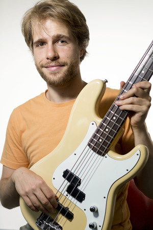 Max Mitchell  teaches Bass Guitar