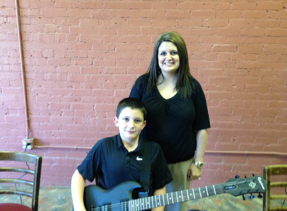 """""""I love the patience that Stuart has with my son. I would recommend him for anyone of any age wanting to learn guitar!""""                                -Kelly Reynolds    """"I like the way that Stuart teaches. It's easy to learn from him and he's very good at making sure his students understand what they are learning!""""                               -BrodyReynolds"""