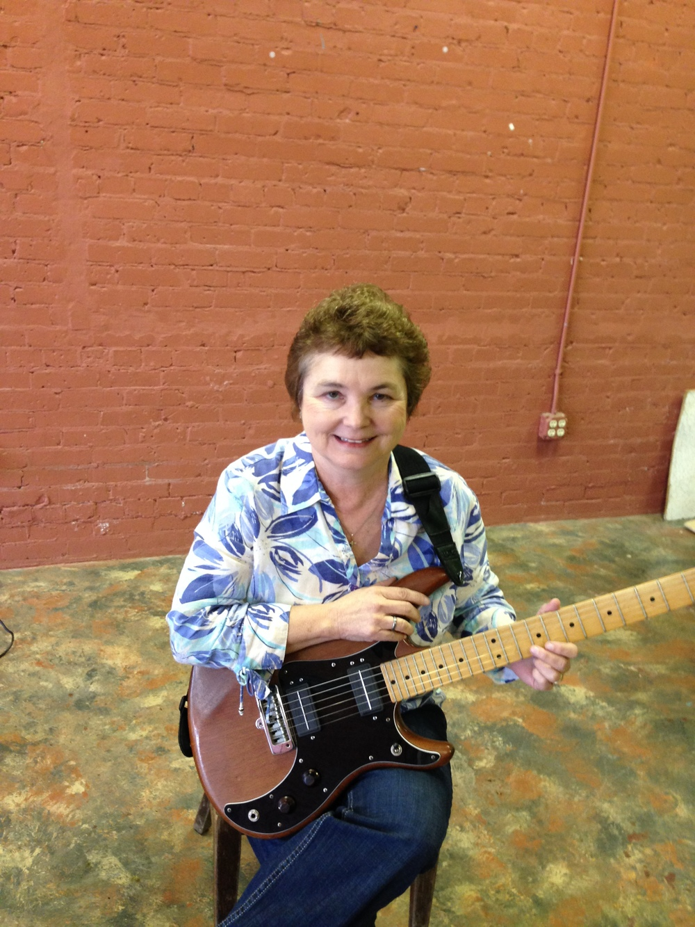 """""""I am a new guitar student and started taking lessons from Stuart in March 2015. He is very knowledgeable, patient and helpful. Stuart is a great teacher and I enjoy my lessons and would highly recommend him!""""                                 -Mary Ann Wylie"""